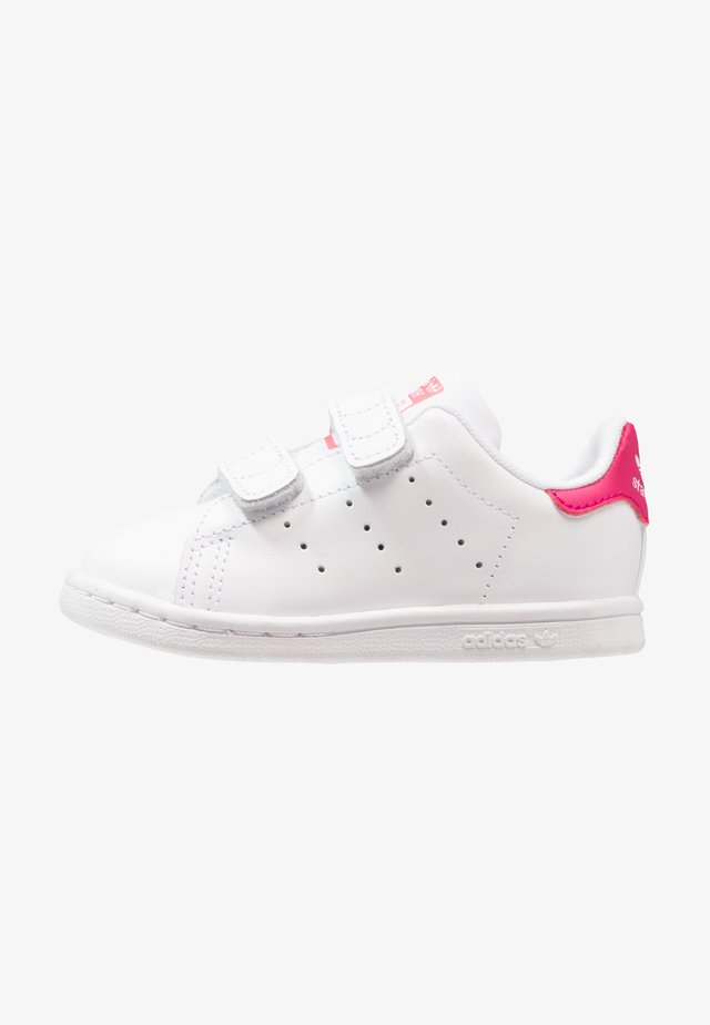 STAN SMITH CF I - Lära-gå-skor - white/bold pink