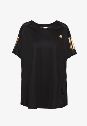 OWN THE RUN TEE - T-shirt con stampa - black