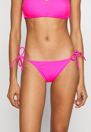 STRING BRIEF - Bikini bottoms - fluo fuchsia