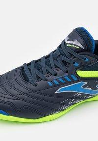 Joma - MAXIMA - Indoor football boots - dark blue - 5