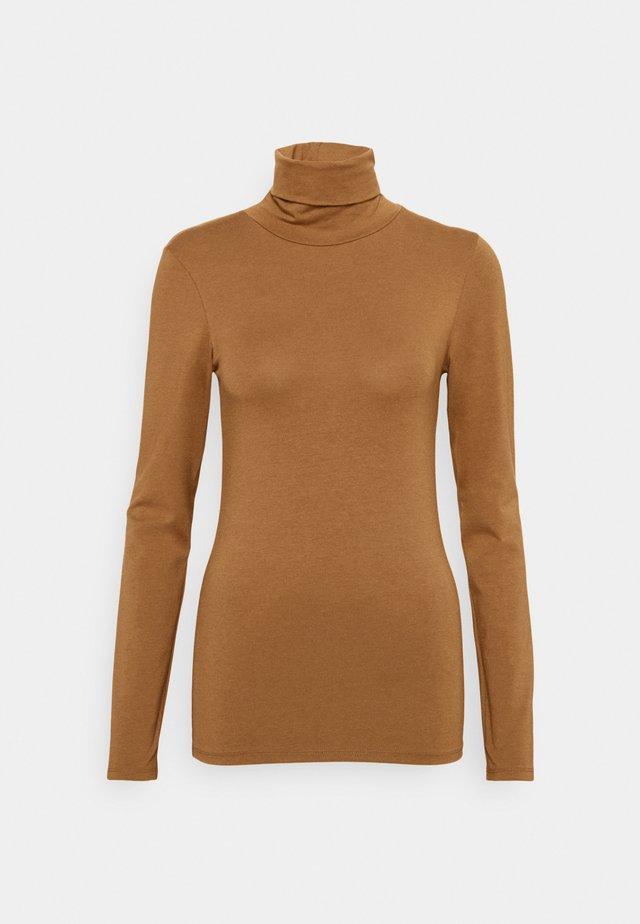 TANNER   - T-shirt à manches longues - brown oak