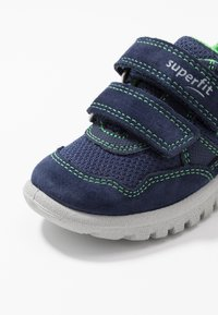 Superfit - SPORT7 MINI - Touch-strap shoes - blau/grün - 5