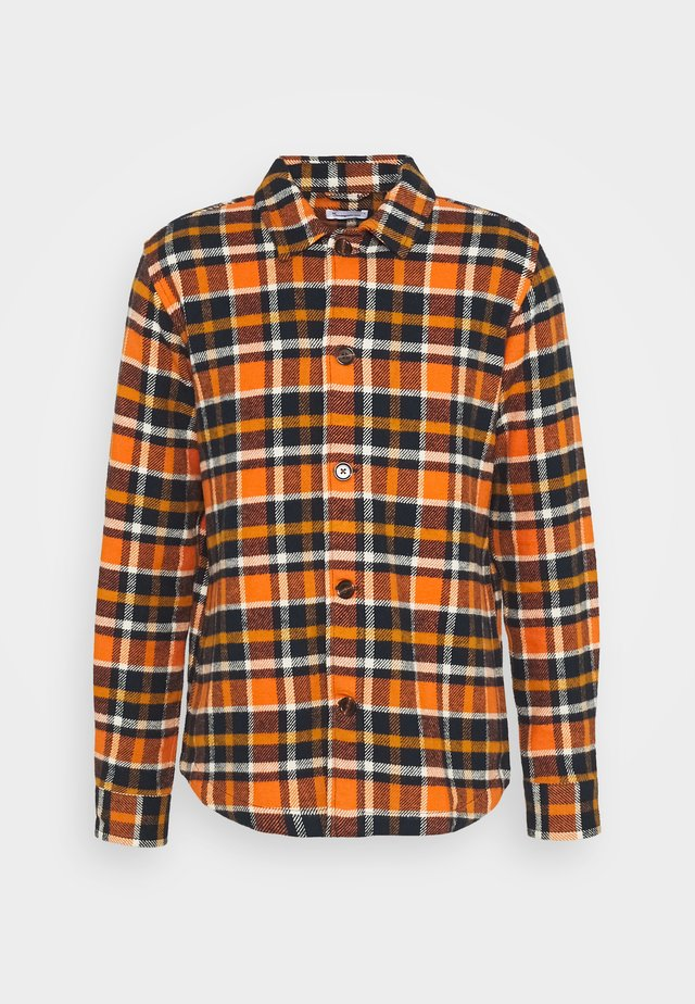CHECKED OVERSHIRT - Camicia - total eclipse