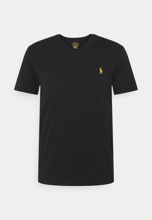 REPRODUCTION - Basic T-shirt - black/gold