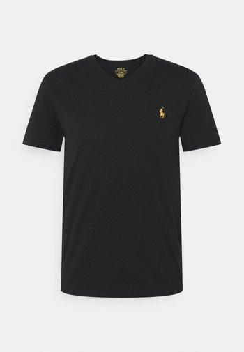 REPRODUCTION - T-shirt basic - black/gold