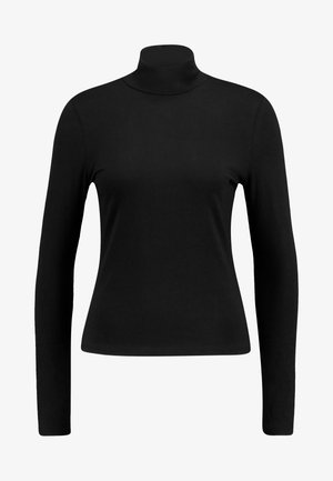 VANJA - Long sleeved top - black dark