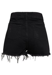 Tiger Mist - MONTANNA - Denim shorts - black - 1