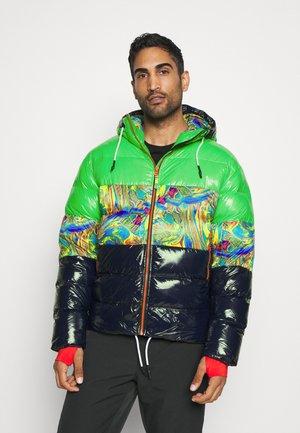 COMBINE - Lyžařská bunda - green
