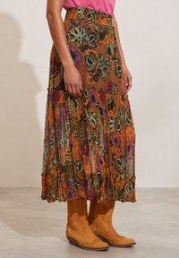 Odd Molly - A-line skirt - apricot tan - 1