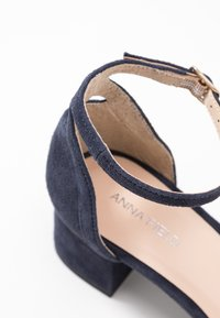Anna Field - LEATHER  - Sandali - dark blue