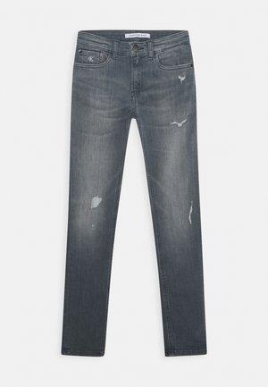 SKINNY SMOKY GREY  - Skinny džíny - blue