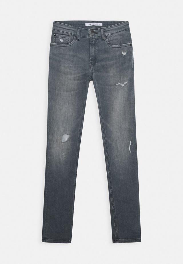 SKINNY SMOKY GREY  - Jeans Skinny Fit - blue