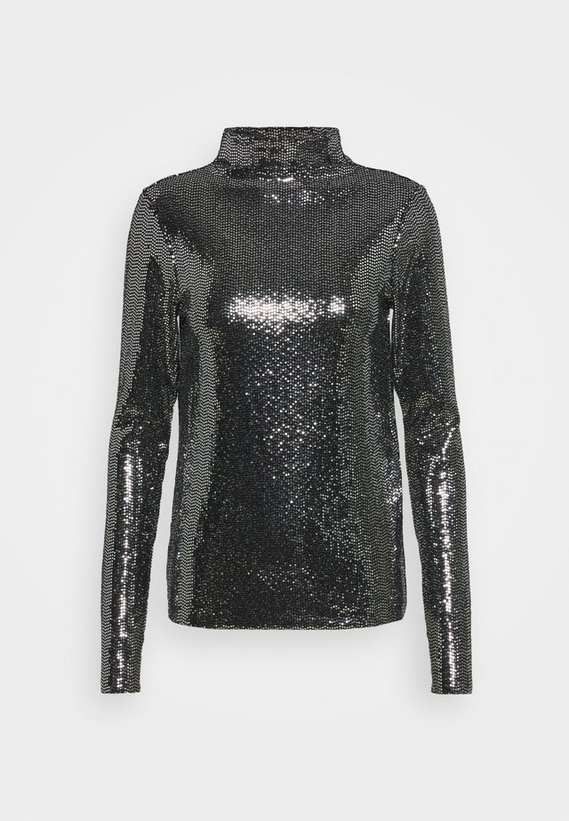 TEBECA - Long sleeved top - argent