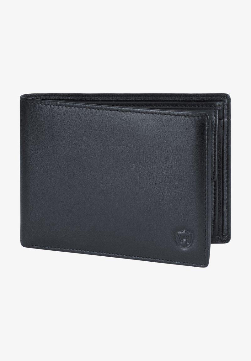 VON HEESEN - CRYPTALLOY RFID - Wallet - schwarz