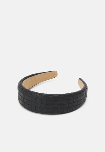 ALICE BAND BRAIDED - Hair styling accessory - black