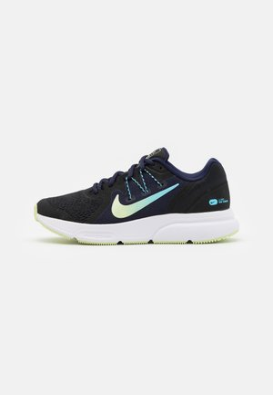 ZOOM SPAN 3 FAIRMONT - Laufschuh Neutral - black/light liquid lime/blackened blue