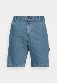 Lee - CARPENTER - Jeans Short / cowboy shorts - blue - 3