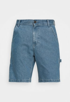 CARPENTER - Jeans Short / cowboy shorts - blue
