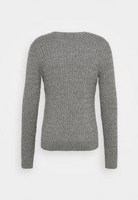 Hollister Co. - CABLE CREW - Pullover - dark grey - 1