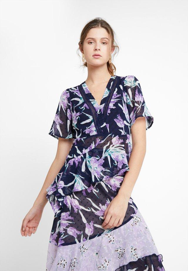 LALA BLOUSE - Blouse - purple multi