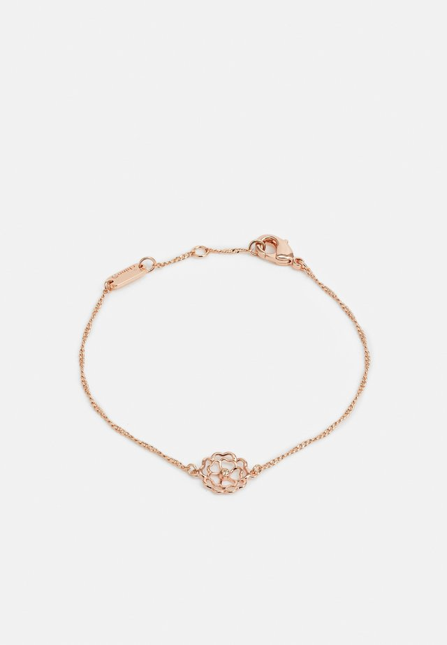 TEA CUTOUT BRACELET - Náramek - rose gold-coloured