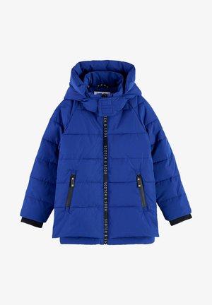 Winter jacket - royalblau