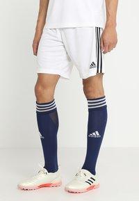 adidas Performance - TAN - Sports shorts - white - 0