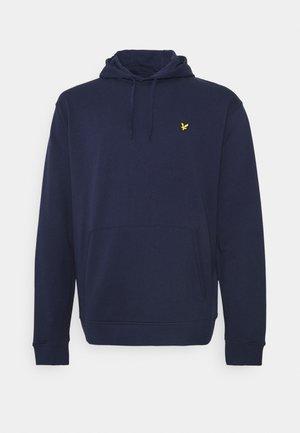 PLUS HOODIE - Sweatshirt - navy