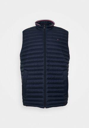 CORE PACKABLE VEST - Waistcoat - blue