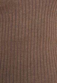 Even&Odd - Trui - light brown melange - 2