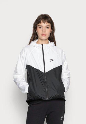 Training jacket - white/black