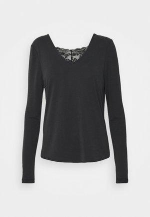 VMFILLI - Bluzka z długim rękawem - black