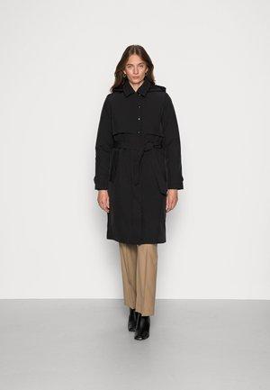 SLFHELENA TECH JACKET - Classic coat - black