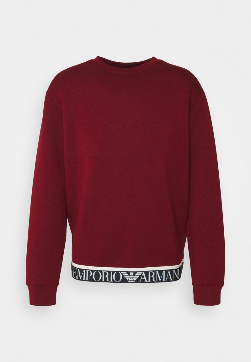 Emporio Armani - Long sleeved top - red