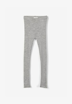 Leggings - Hosen - grey melange