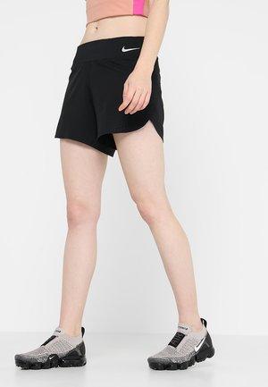 Pantaloncini sportivi - black/silver