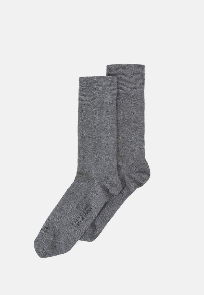 FALKE - SEN LONDON - Socks - light greymelange