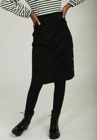 NAF NAF - Pencil skirt - black - 0