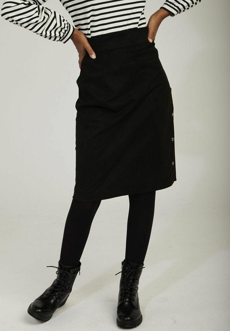 NAF NAF - Pencil skirt - black