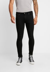 Jack & Jones - JJILIAM JJORIGINAL  - Slim fit jeans - black - 0