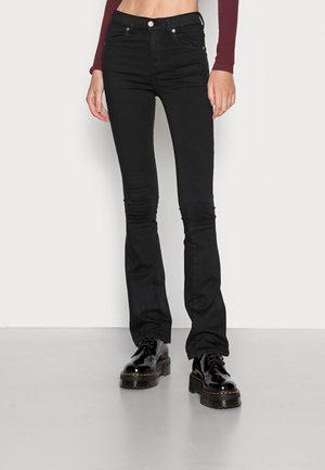 LEXY BOOTCUT - Bootcut jeans - black