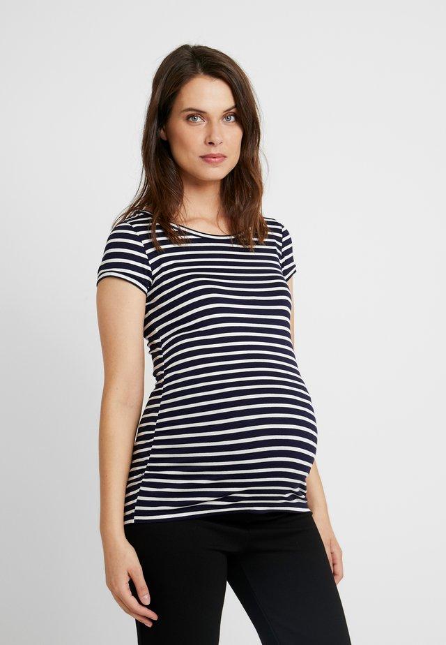 MAGLIA FIOCCO - T-shirts print - natural
