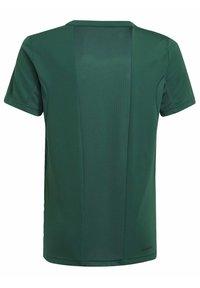 adidas Performance - B SEAS TEE - T-Shirt print - green - 1