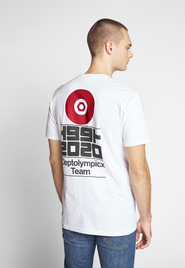 CLEPTOLYMPICX - T-shirt con stampa - white
