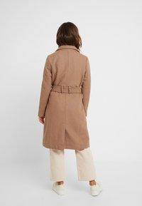 Vero Moda Petite - VMDANIELLA LONG - Classic coat - tobacco brown - 2