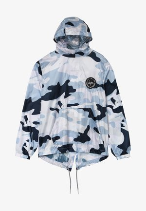 KIDS FISHTAIL JACKET MONO CAMO - Chaqueta de entretiempo - grey/white