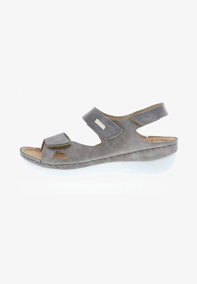 Slippers - silber