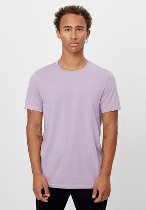 MIT RUNDAUSSCHNITT - Basic T-shirt - mauve