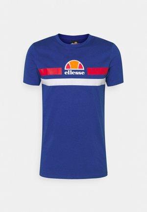 APRELA TEE - T-shirt imprimé - blue