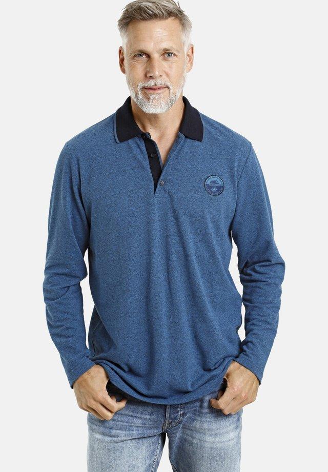 ARNAR - Polo shirt - blau melange